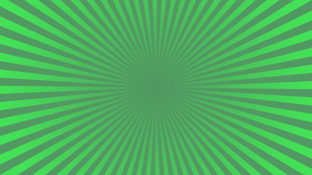 Green burst design
