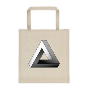Impossible Triangle Tote Bag